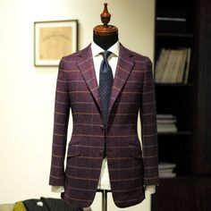 "wwchantailor:  Holland & Sherry ""sherry tweed"" #wwchan #hollandsherry  (at WW Chan & Sons Tailor Ltd)"