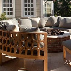 Gentil Martha Stewart Living™ Lake Adela Curved Sectional Set   Outdoor Sectional    Outdoor Sectional Sofa   Outdoor Wicker Sectional | HomeDecorators.cu2026