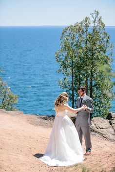 Marquette Michigan Wedding Chad And Claire Vienna Glenn Photography