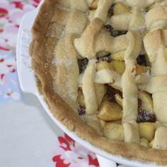 Marzipan apple pie recipe