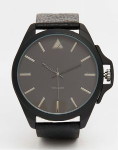 ASOS+Watch+In+Black+With+Crown+Detail
