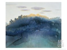 Clouds at Dusk Giclee Print by Yunlan He at Art.com