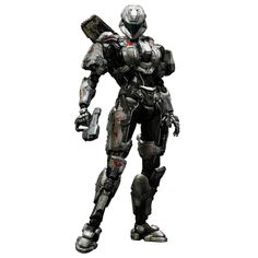 Halo 4 Play Arts Kai Vol. 2 Action Figure Spartan Sarah Palmer - The Movie Store Halo Action Figures, Halo Armor, Halo Game, Combat Armor, Red Vs Blue, Stories For Kids, Easter Stories, Anime Figurines, Armor Concept