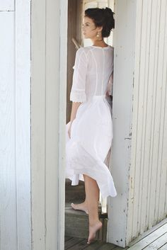 Spring 2013 Intimates Trend: Time After Time  (Jane de Lacey's cotton robe.)