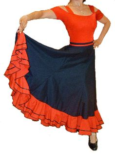 Susana Flamenco Skirt... for B's girls?