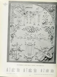 Illustrated catalogue of plastic ornaments cast...