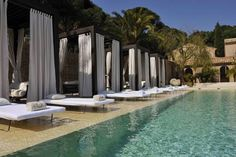 Muse Saint Tropez / Ramatuelle Ramatuelle Muse Saint Tropez/Ramatuelle is a luxury hotel with elegant decor, an Eco-friendly garden, spa and swimming pool.  The spacious suites feature a living room and bathroom. Some have a balcony while others have a terrace.