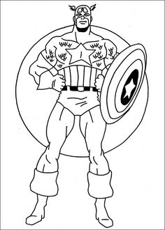 46 Best Superhero Coloring Pages Images Coloring Pages Superhero