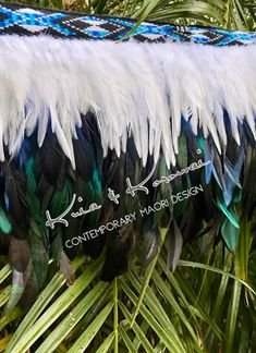 """Misty Blue"" Ladies Feather 1/4 Cloak Coque Feathers, Maori Designs, Cloak, Ethereal, Things To Come, Vibrant, Lady, Blue, Beautiful"