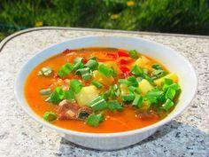 Бограч — венгерский суп Ингредиенты: Говядина — 1 кг