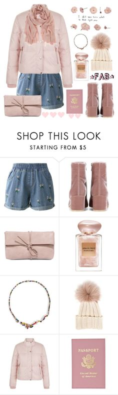 """""""Pick me 🐾💕."""" by parkmona ❤ liked on Polyvore featuring Chicwish, Gianvito Rossi, LULUS, Giorgio Armani, Iosselliani, Inverni, New Look and Mint Velvet"""