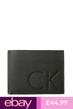 4397e3f6c05d Calvin Klein #eBayWallets Clothes, Shoes & Accessories Leather Wallet,  Leather Men,