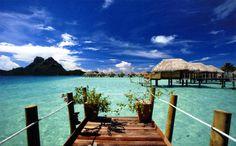 Polinesia francesa de aguas cristalinas y entorno maravilloso #travel #vacaciones #vacacion #polinesiafrancesa