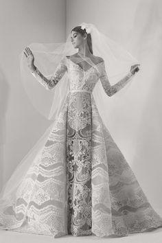 Elie Saab Fall 2019 Couture Fashion Show - Vogue Elie Saab Bridal, Bridal Dresses, Wedding Gowns, Prom Dresses, Sexy Dresses, Dresses Uk, Beautiful Dresses, Fashion Dresses, Ellie Saab