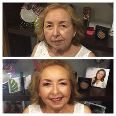 Maquillaje de señora