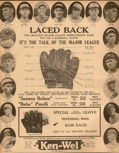 vintage baseball adv - Google Search
