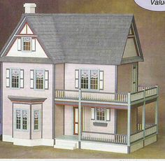 doll houses. I don't have a daughter, but if find out my preggo sister is having a girl...I will have a new project to work on for about 4 years :)