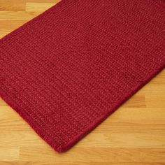 Colonial Mills Solid Chenille Rectangle Sangria Kids / Juvenile Rug - SC78