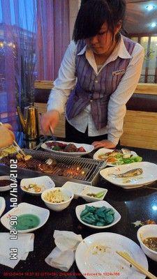 BBQ in Dandong