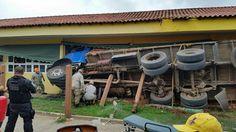 CIDADE: Já são 18 crianças feridas em acidente do caminhão...