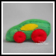 Vilt auto #Felt car #Carro de feltro #Coche se sentía.
