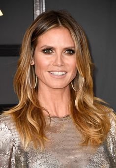 Image result for heidi klum's new hair color 2017