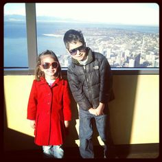 Take your Kids to New Heights: a few Seattle views that aren't just the Great Wheel or the Space Needle..