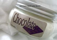 chocolate shea butter lotion by normasbath on Etsy, $8.99