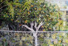 Original Oil painting 'Lemon Tree' 60 x 90 by NarimCrafts on Etsy
