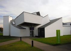 the Vitra Desing Museum designed by Frank Gehry