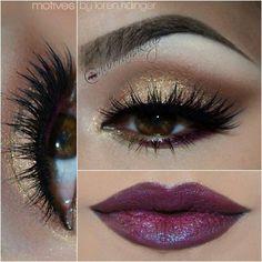 Glitter Eye Makeup Idea for 2015