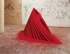 Anish Kapoor 'mother as a mountain'