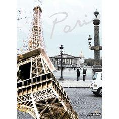Déco murale Paris Tour eiffel