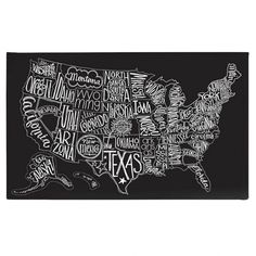 "Us Map Wall Art printable art ""adventure awaits"" wall print map art map print map"