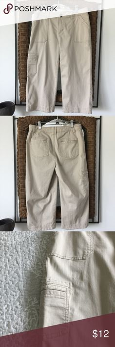 NWOT - Croft & Barrow Capri Wider leg.  Took tags off, I was going to wear them, lost weight, now I can't wear them. Bundle for discount. croft & barrow Pants Capris