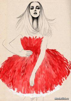 Знаменитости: Модный иллюстратор Sandra Suy