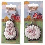 Porte-Clés Moutons de la ferme