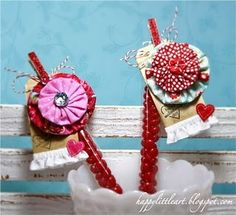 cute yoyo hair clips