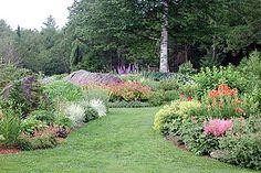 Beautiful outdoor garden