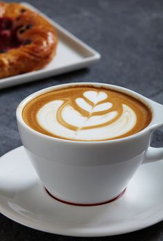 Latte Art. Wish I could do something like this :)
