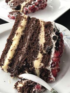 Çikolatalı Kakaolu Yaş Pasta