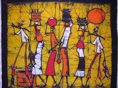 World Travel Art: African Batik Art African Art Projects, Batik Art, 5th Grade Art, Ecole Art, Africa Art, Arte Popular, African American Art, Global Art, Art Design