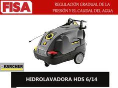 HIDROLAVADORA HDS 6/14  Regulacion gradual de la presión del agua -FERRETERIA INDUSTRIAL -FISA S.A.S Carrera 25 # 17 - 64 Teléfono: 201 05 55 www.fisa.com.co/ Twitter:@FISA_Colombia Facebook: Ferreteria Industrial FISA Colombia