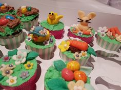 Another Easter cupcake shot. Full of spring inspired designs.