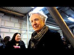 Alan Rickman Seminar Stage Door Feb 26, 2012 - YouTube
