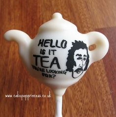 Tea Pot Cake Pop - Lionel Richie