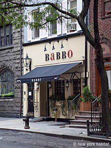 Babbo restaurant in Greenwich Village...yummm :-) I'd love to eat here. Mario Boctelli's restraunt :)
