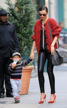 Miranda Kerr with Flynn