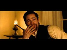 This scene is priceless . Most of us had the misfortune to meet many Bob Fold's alikes . Coward people who wish to stab you, in the front or even from the back . The look on Brad Pitt's face at the end kills me . just truly priceless . Assassination Of Jesse James, Brad Pitt, Hollywood Stars, Writing Inspiration, Good Music, Equality, Music Videos, Acting, Wicked