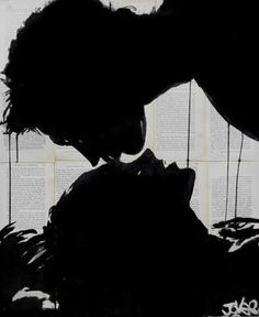 "Saatchi Art Artist Loui Jover; Drawing, ""feel"" #art"